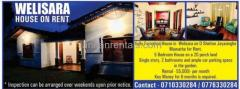 HOUSE IN WELISARA FOR RENT