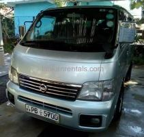VAN FOR RENT IN NEGOMBO