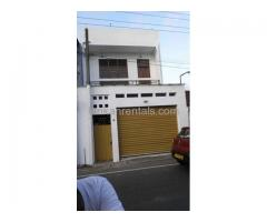 Two Storey house for Rent in Borella , Kuruppu Road
