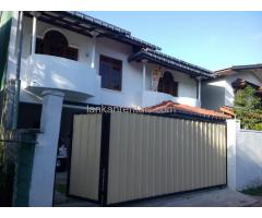 House for rent in Ganemulla City