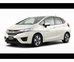 RENT A HONDA FIT GP5 CAR