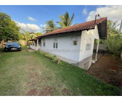 House for rent in chilaw