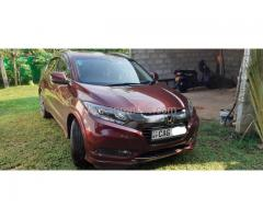 Honda Vezel 2015 Car for rent