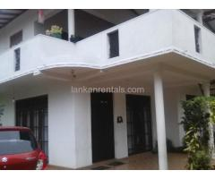 Two story house- Ground floor for rent