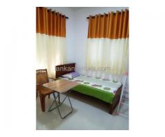 Furnished tiled Room for Decent single Lady at Rajagiriya
