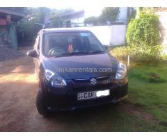 Suzuki Alto Car For Rent