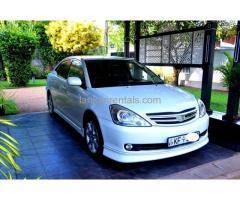 Toyota Allion 240 For Rent