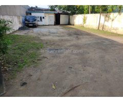 Commercial Land for Rent In Maharagama