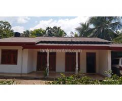 House for rent in Pinnawala, Waga