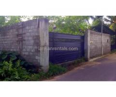 land for rent at Delkandha / Nugegoda
