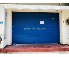 Shop for Rent in Slave Island